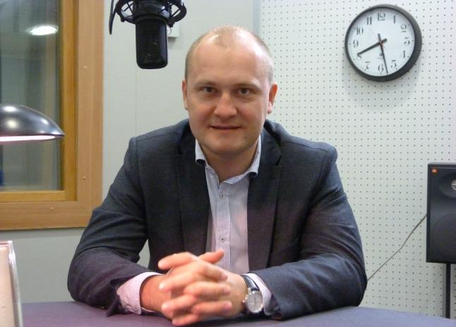 Piotr Krzystek. Fot. Sylwia Polachowska [Radio Szczecin]