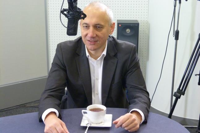 Joachim Brudziński. Fot. Sylwia Polachowska [Radio Szczecin]