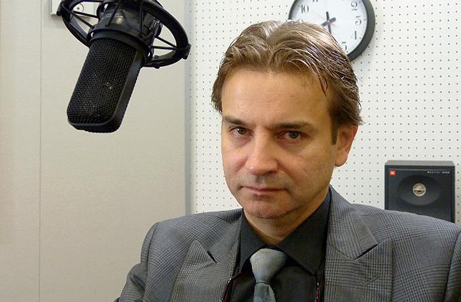 Prof. dr hab. med. Maciej Wójcicki. Fot. Piotr Sawiński [Radio Szczecin]