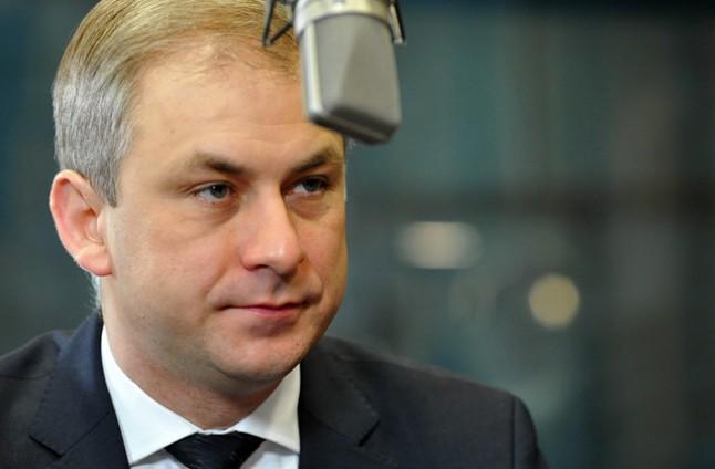 Grzegorz Napieralski. Fot. Łukasz Szełemej [Radio Szczecin/Archiwum]