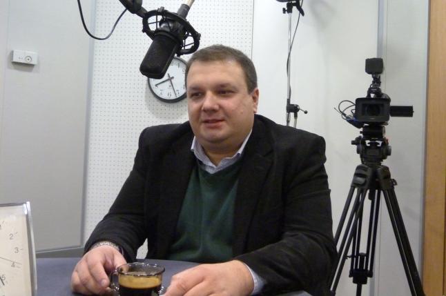 Krzysztof Zaremba. Fot. Sylwia Polachowska [Radio Szczecin]