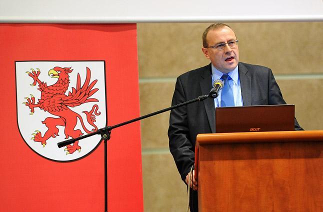 Prof. Antoni Dudek. Fot. Łukasz Szełemej [Radio Szczecin]