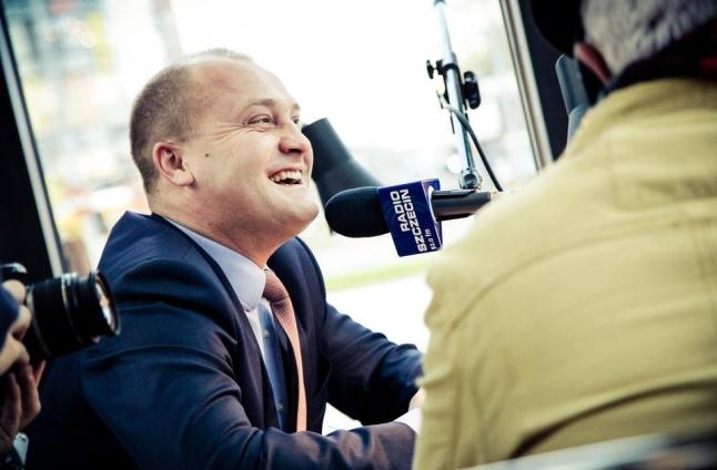 Piotr Krzystek. Fot. Paweł Płocharski [Radio Szczecin]