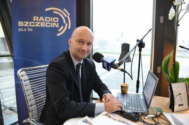 Marcin Zydorowicz. Fot. Łukasz Szełemej [Radio Szczecin]