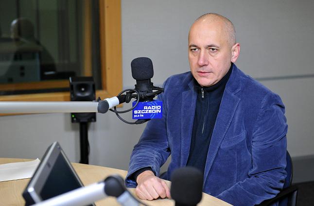 Joachim Brudziński. Fot. Łukasz Szełemej [Radio Szczecin]