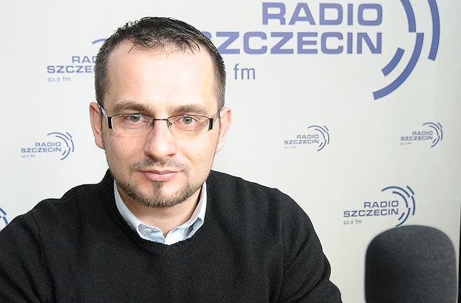 Piotr Słomski. Fot. Piotr Sawiński [Radio Szczecin]