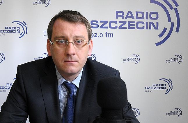 Dawid Krystek. Fot. Piotr Sawiński [Radio Szczecin]