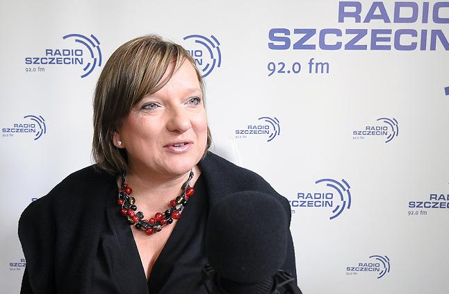 Beata Kempa. Fot. Piotr Sawiński [Radio Szczecin]