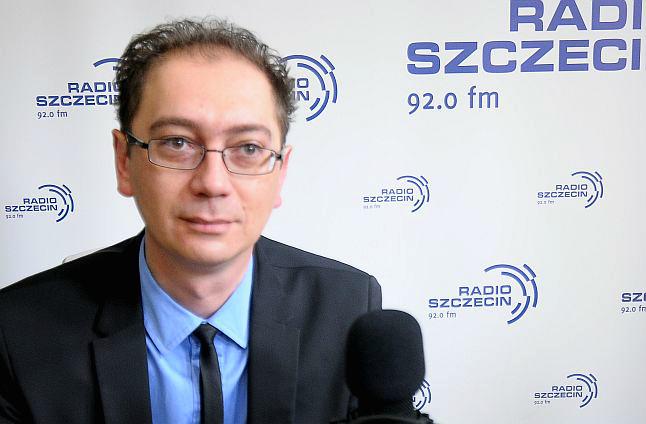 Łukasz Tyszler. Fot. Piotr Kołodziejski [Radio Szczecin]