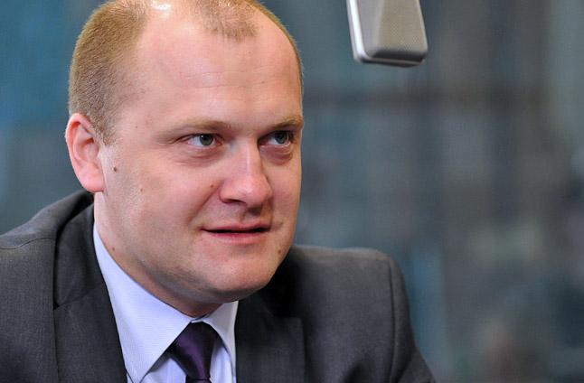 Piotr Krzystek. Fot. Łukasz Szełemej [Radio Szczecin]