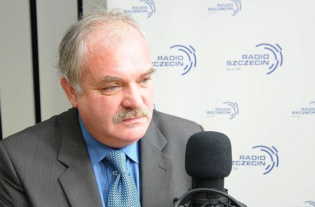 Piotr Jania. Fot. Piotr Kołodziejski [Radio Szczecin]