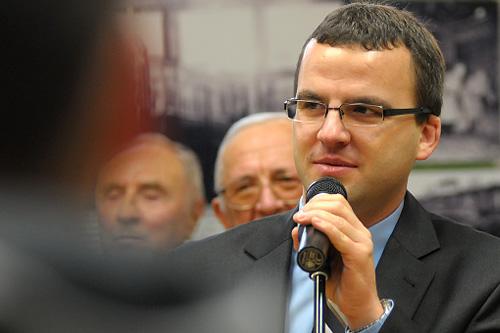 Marcin Stefaniak. Fot. Łukasz Szełemej [Radio Szczecin/Archiwum]