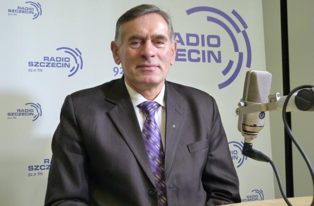 Jan Krawczuk. Fot. Sylwia Polachowska [Radio Szczecin]