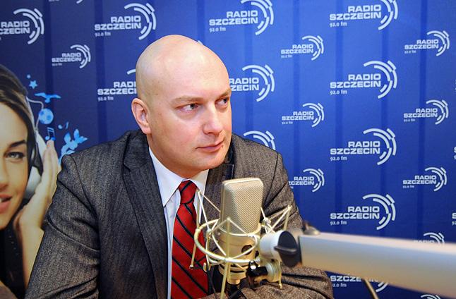 mec. Przemysław Kowalewski. Fot. Piotr Sawiński [Radio Szczecin]