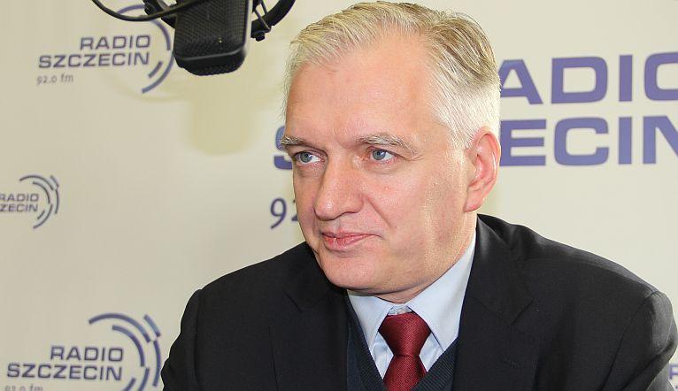 Jarosław Gowin. Fot. Piotr Kołodziejski [Radio Szczecin]