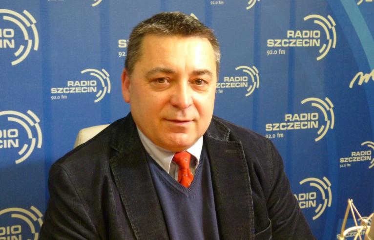 Dariusz Stępień. Fot. Sylwia Polachowska [Radio Szczecin]