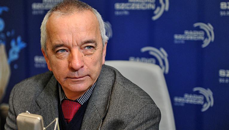 Grzegorz Huszcz. Fot. Łukasz Szełemej [Radio Szczecin]