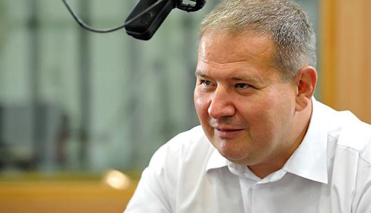 Leszek Dobrzyński. Fot. Łukasz Szełemej [Radio Szczecin]