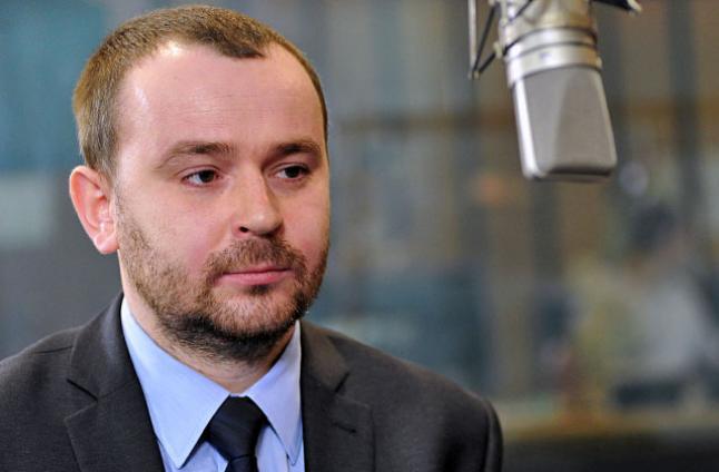 Paweł Mucha. Fot. Łukasz Szełemej [Radio Szczecin]