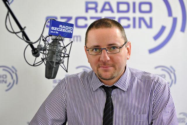 Tomasz Chaciński. Fot. Łukasz Szełemej [Radio Szczecin]