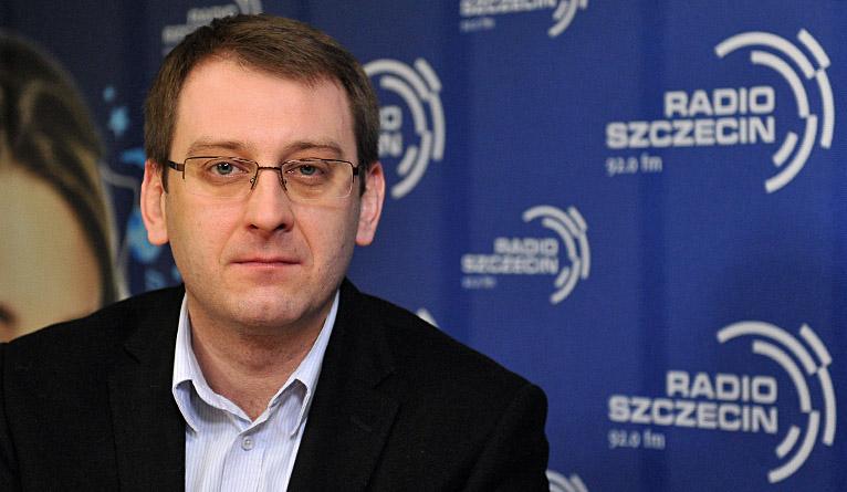 Dawid Krystek. Fot. Łukasz Szełemej [Radio Szczecin]