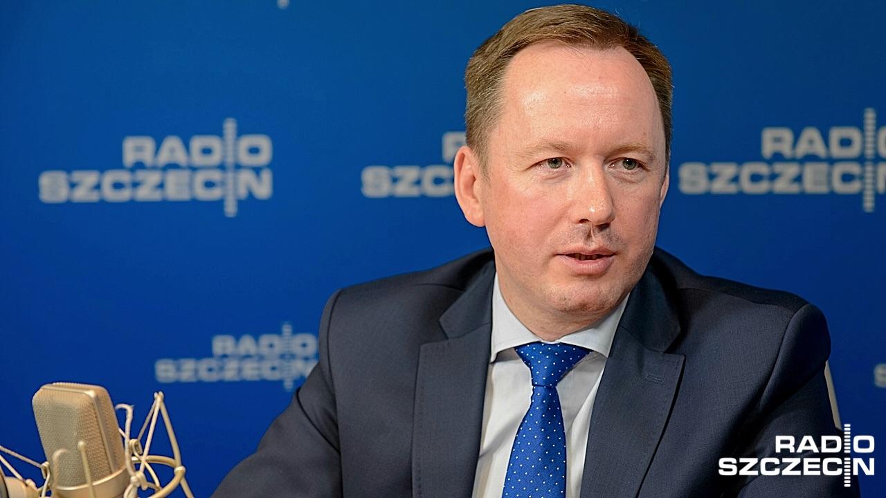Arkadiusz Litwiński Fot. Jarosław Gaszyński [Radio Szczecin/Archiwum]