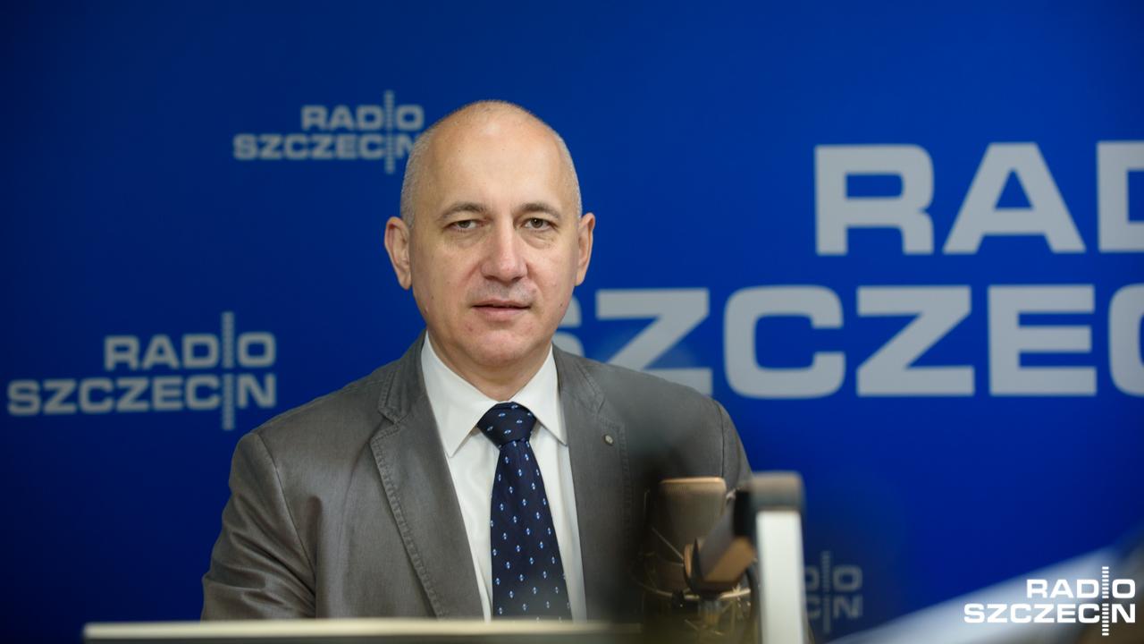 Joachim Brudziński. Fot. Konrad Nowak [Radio Szczecin]