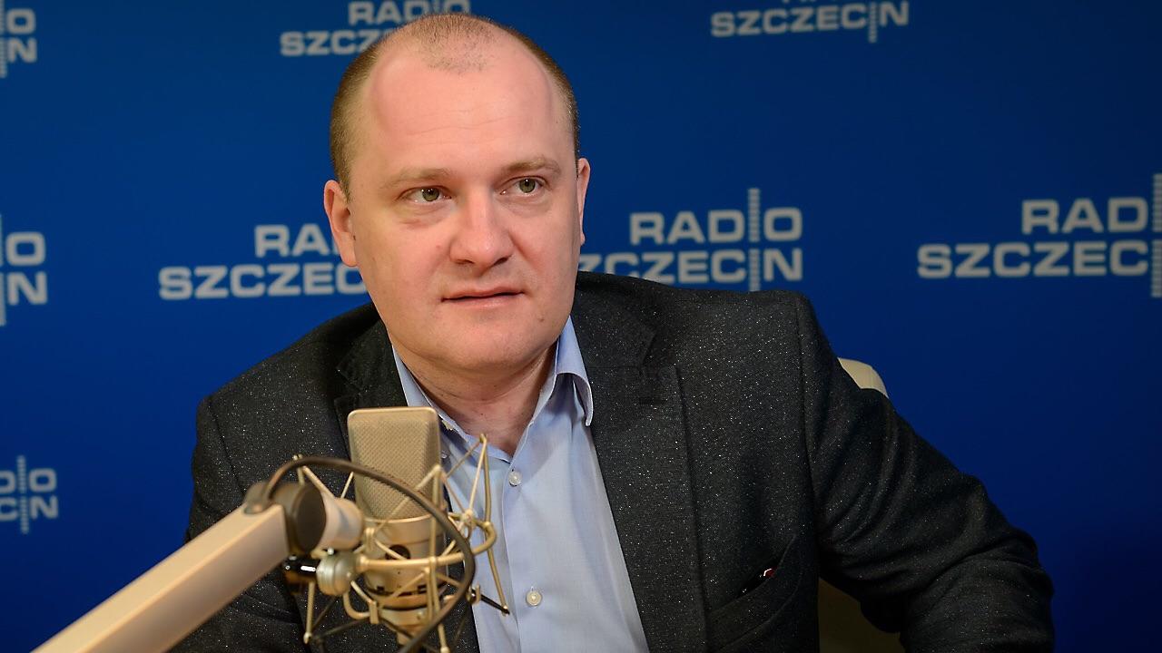 Prezydent Szczecina Piotr Krzystek. Fot. Jarosław Gaszyński [Radio Szczecin/Archiwum]