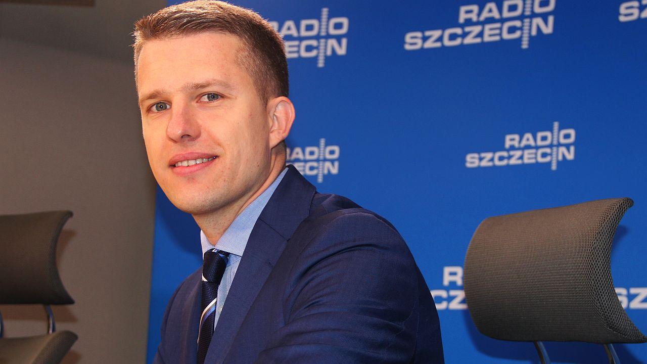 Arkadiusz Marchewka. Fot. Piotr Kołodziejski [Radio Szczecin]