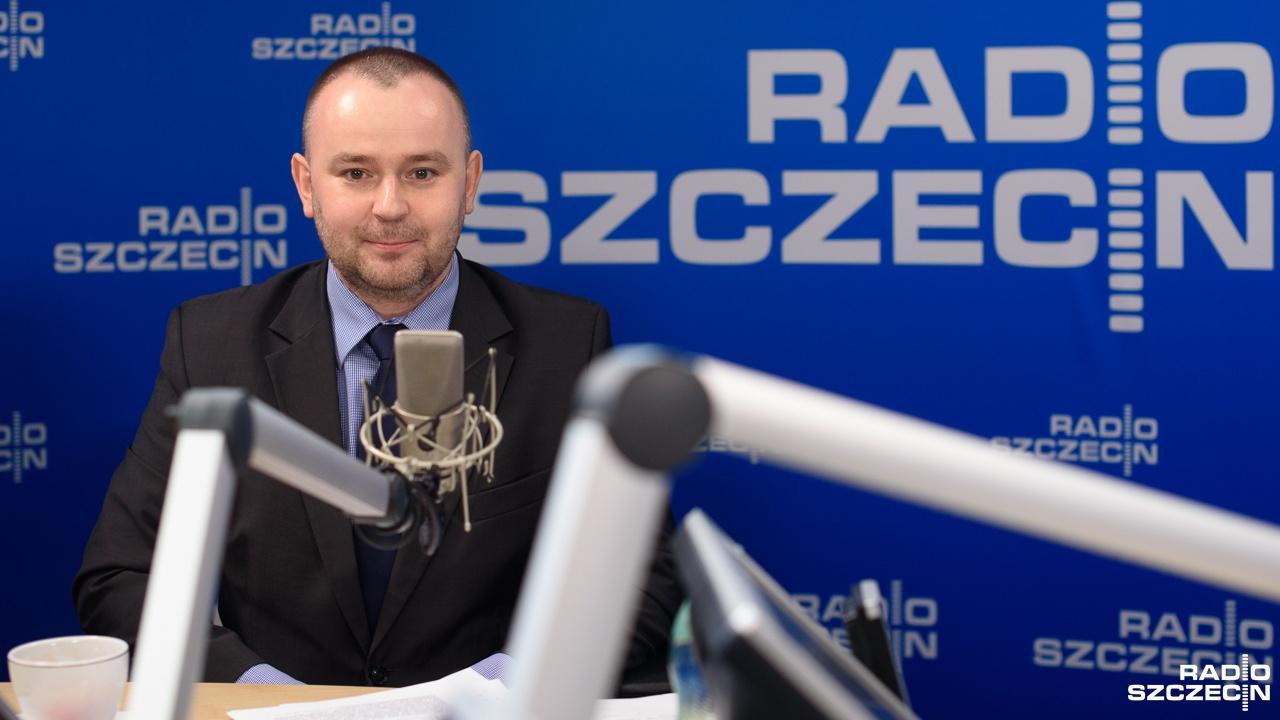 Paweł Mucha. Fot. Konrad Nowak [Radio Szczecin/Archiwum]