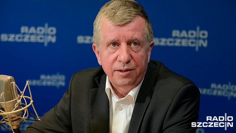 Michał Jach. Fot. Jarosław Gaszyński [Radio Szczecin/Archiwum]