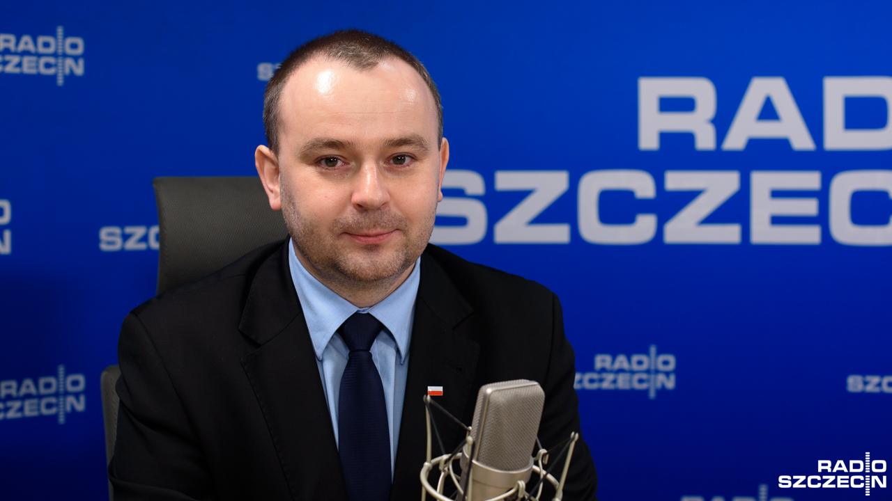 Paweł Mucha. Fot. Konrad Nowak [Radio Szczecin]
