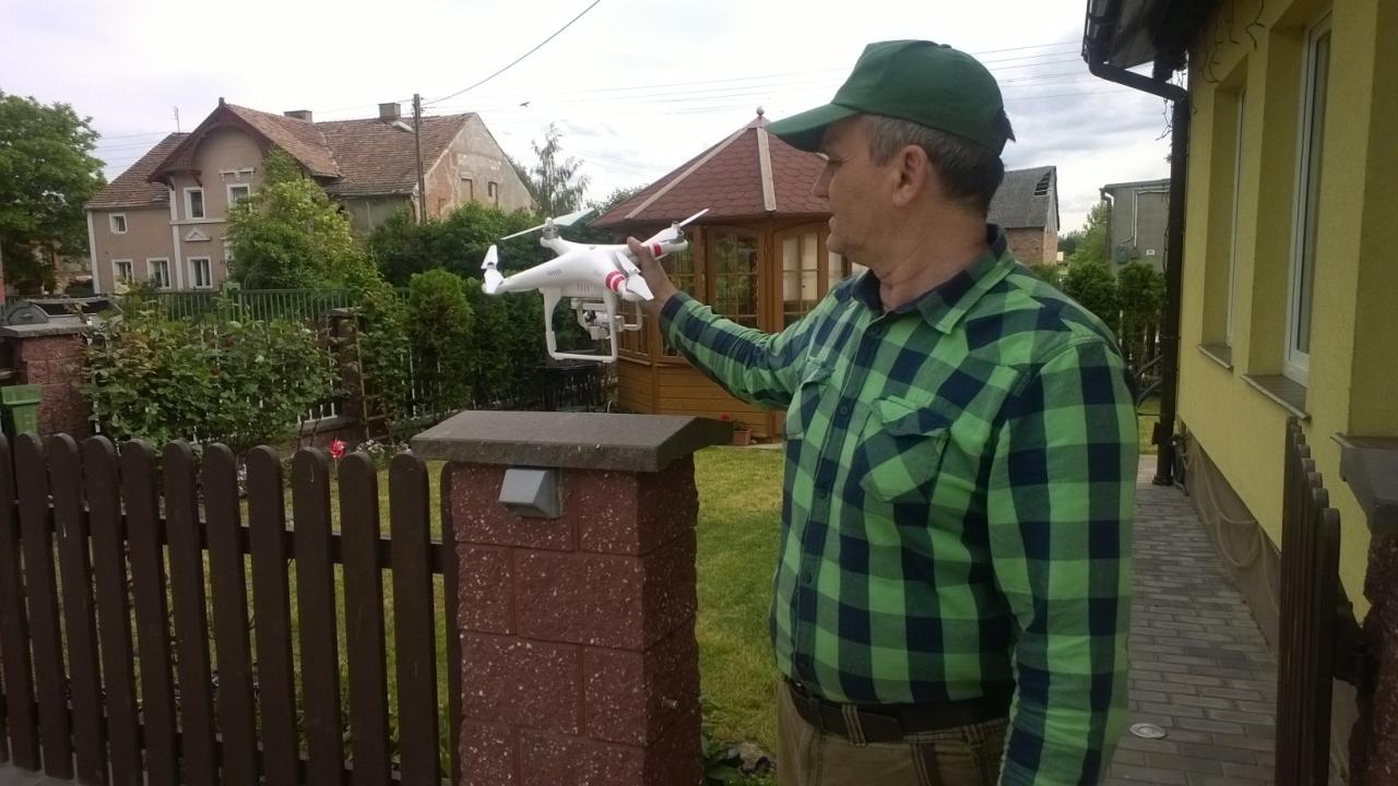 Dron. Fot. Zdzisław Tararako [Radio Szczecin]