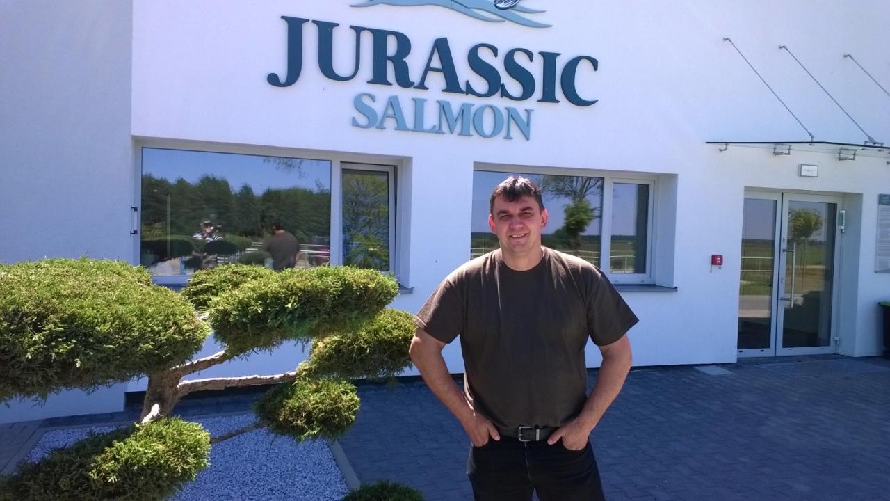 Jurassic Salmon. Fot. Zdzisław Tararako [Radio Szczecin]