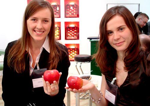 Polskie jabłko hitem w Berlinie (WIDEO)