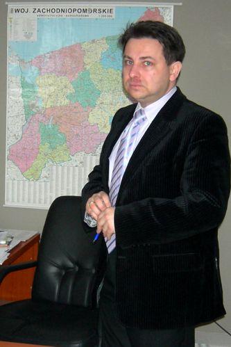 Dr Dariusz Lewiński pozostaje na stanowisku dyrektora stargardzkiego zoz-u. Fot. M. Rumiński [PR Szczecin].