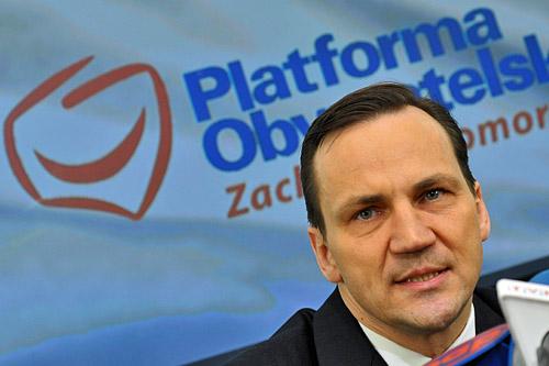 Radosław Sikorski w Szczecinie