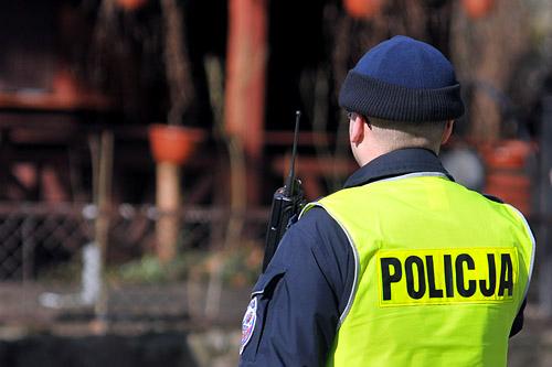 Atak na policjanta w Szczecinie