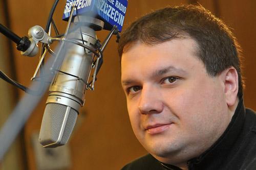 Prezydent Piotr Krzystek jest już poza Platformą Obywatelską - powiedział w Rozmowie pod Krawatem senator Krzysztof Zaremba. Fot. Łukasz Szełemej [PR Szczecin]