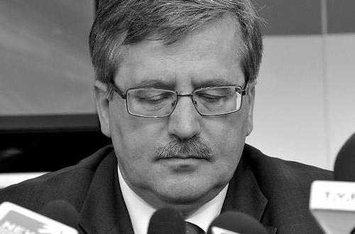 Marszałek ogłosił żałobę narodową