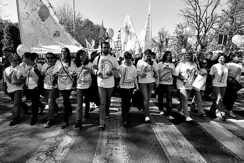 Marsz dla życia przełożony