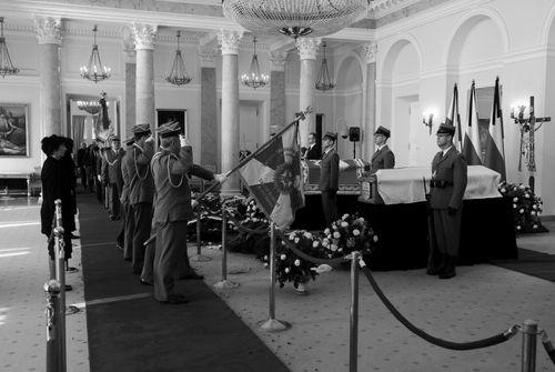 Szczecińska delegacja oddała hołd Parze Prezydenckiej