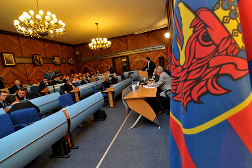 W poniedziałek szczecińska rada miasta przyjęła wspólne stanowisko w sprawie planów MON wobec 12 BZ. Fot. Łukasz Szełemej [PR Szczecin]