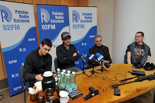 Trela i Damięcki w słuchowisku Czeczota (WIDEO)