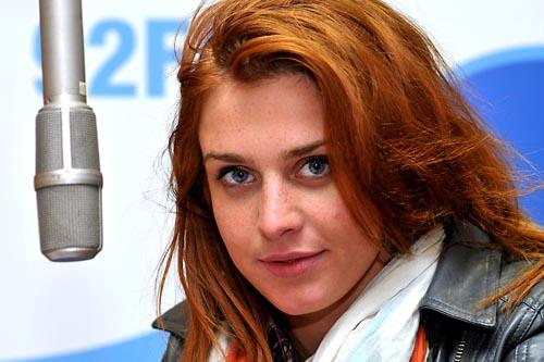 Julia Kamińska nagrywa dla Radia Szczecin (WIDEO)