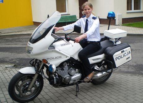 13-letnia komendantka nowogardzkiej Policji