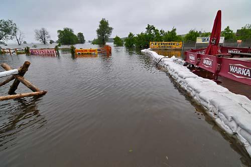 Sytuacja powodziowa w regionie