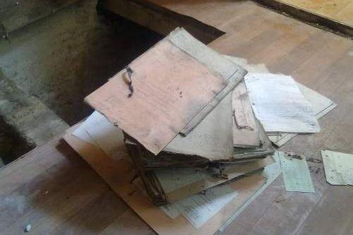 Świnoujście: Dokumenty pod podłogą