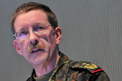 Dowódca Korpusu w Afganistanie