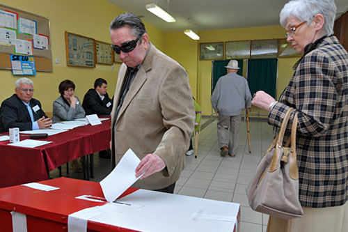 Głosowało ponad 40 mieszkańców zachodniopomorskiego